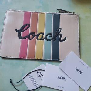NWT Coach small clutch pouch